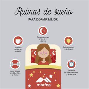 Mejor rutina del sueño