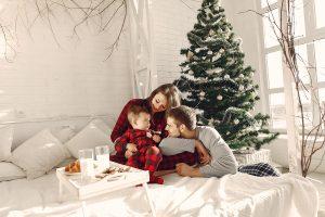 Navidad en tu dormitorio y cama